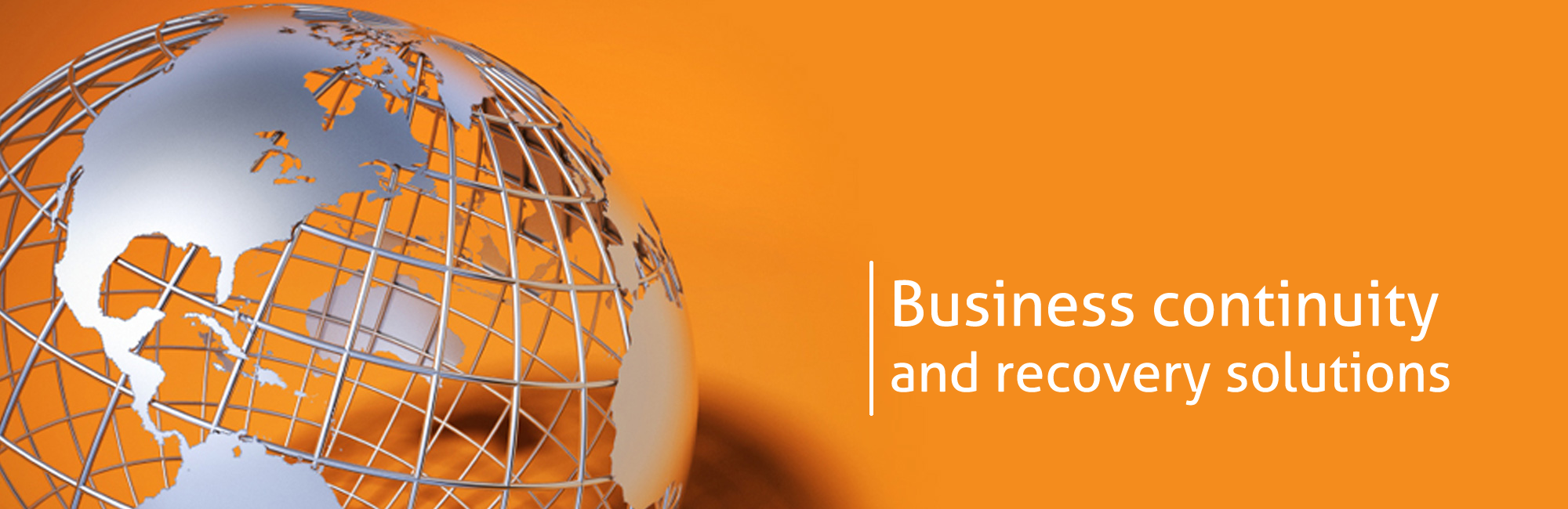 Business continuity and recovery solutions